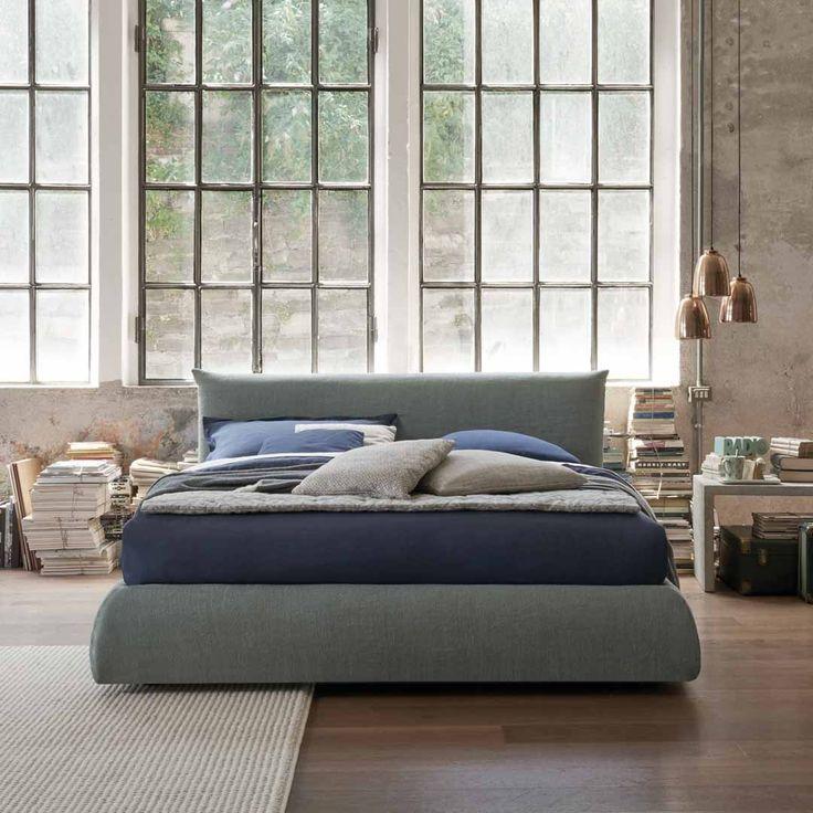 Die besten 25+ großes Kopfteil für Bett Ideen auf Pinterest - schlafzimmer mit boxspringbett
