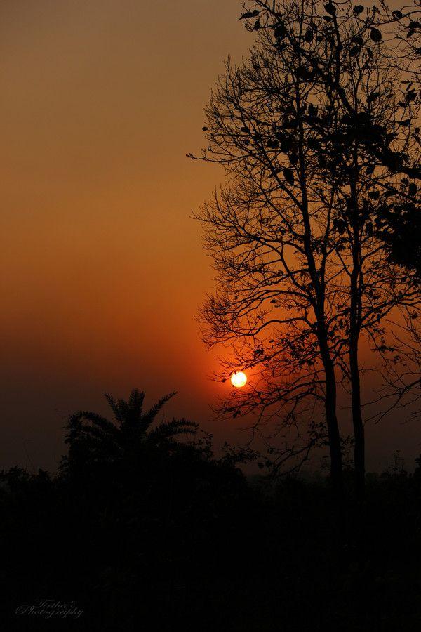 Sunset by Tirtha Banerjee