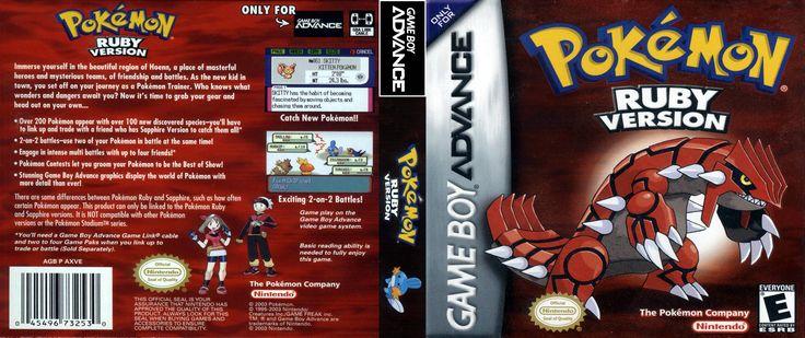 Jogue Pokemon Ruby GBA Game Boy Advance online grátis em Games-Free.co: os melhores GBA, SNES e NES jogos emulados no navegador de graça. Não precisa instalar ou baixar.