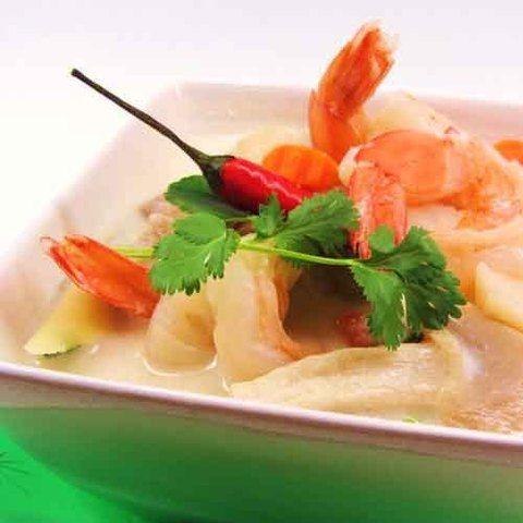 Тайский кокосовый суп том кха гунг: рецепт