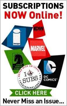 Comic Subscriptions @ ForbiddenPlanet.com