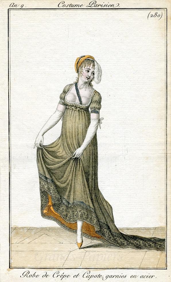 Costume parisien 1800