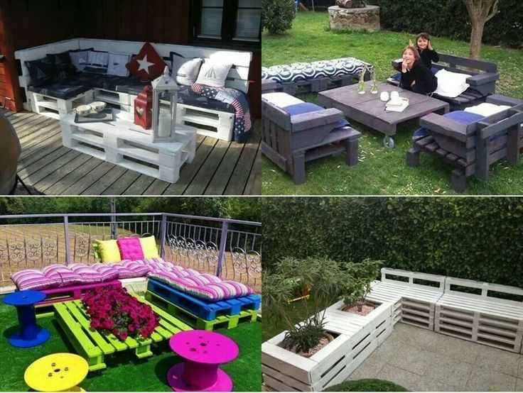 pallets on Pinterest | Pallet Patio Furniture, Pallets and Pallet ...