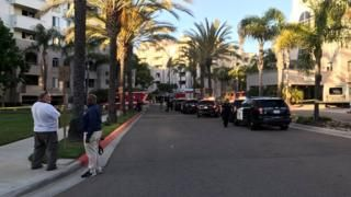 San Diego pool party gunman called ex-girlfriend during attack - Police say a man called his ex-girlfriend on the phone as he shot seven people at a pool party on Sunday.