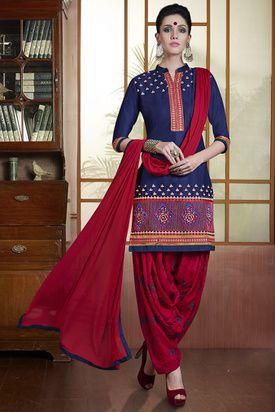 RupaliOnline - Patiala Suits