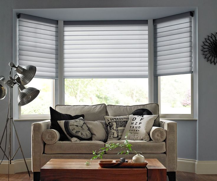 Living Room Large Windows: 17 Best Ideas About Bay Window Blinds On Pinterest
