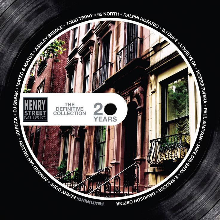 Various Artists - '20 Years Of Henry Street Music: The Definitive Collection' (Vinyl LP)