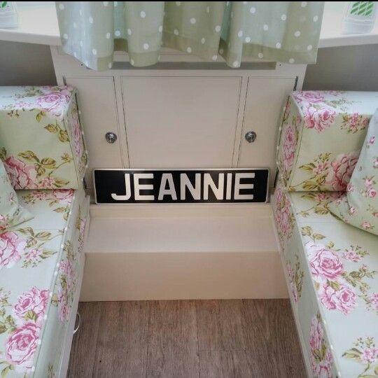 Jeannie is complete!   She's been a labour of love! #vintagecaravan