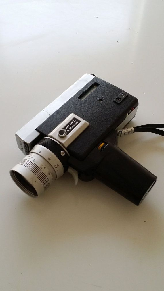 Canon Super 8 Camera by CaliforniaVibrations on Etsy, $50.00