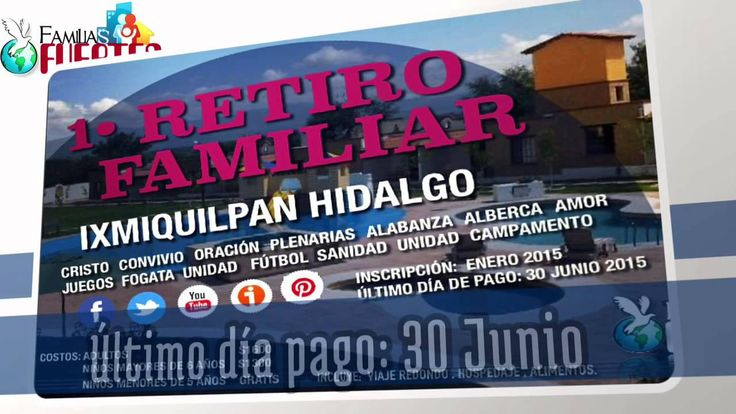 Retiro Familiar. 31 Julio - 1 Agosto 2015