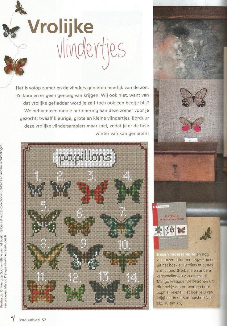 Vrolijke vlinders - deel 1