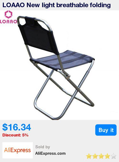 Loaao New Light Breathable Folding Chair Fishing Chairs