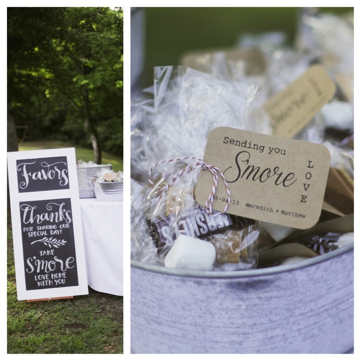 Cozy Up To Fall With S Mores How Sweet And Warm Are These Wedding