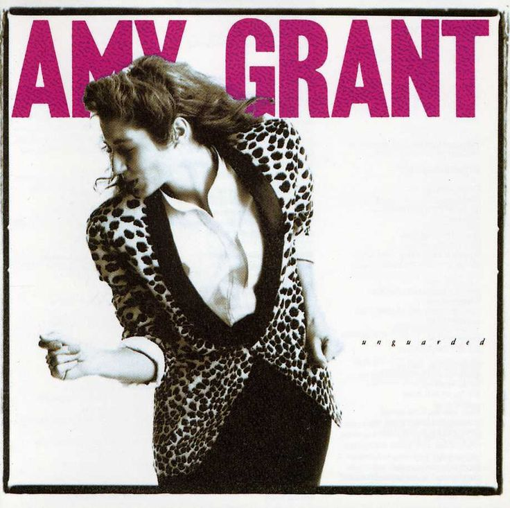 Unguarded, Amy Grant's sixth regular studio album (and ninth album overall), marked her big pop move. After 1982's Age to Age and 1984's Straight Ahead went gold despite distribution restricted mainly