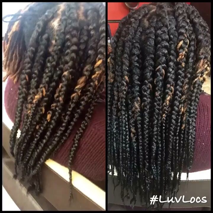 Box Braids Over Locs Naturalcreations Luvlocs Locqueen