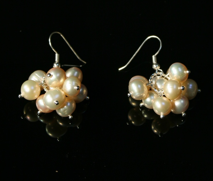 Dionysos - Cercei din perle naturale de apa dulce