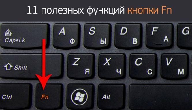 Вот для чего нужна кнопка Fn на вашем ноутбуке