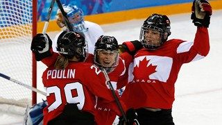 Women's hockey gold medal game CAN vs. USA (webcast)