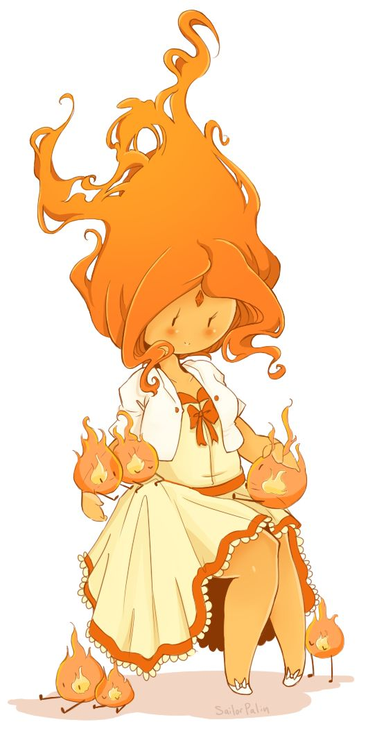 There, There by sailorpalin.deviantart.com on @deviantART Flame princess Adventure time