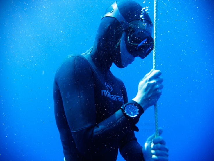OceanicTime: Vostok Europe ANCHAR & Greek National Free-Diving TEAM