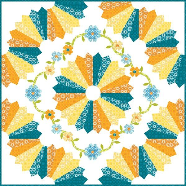 Dresden Quilt Patterns Free : Best 25+ Dresden plate quilts ideas on Pinterest Dresden quilt, Dresden plate and Quilt patterns