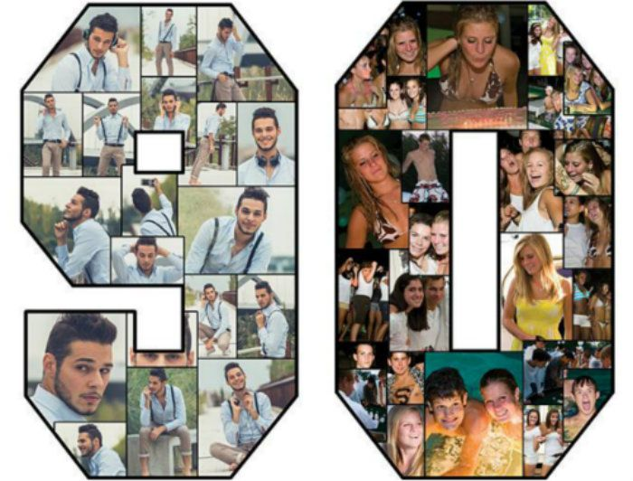 how to make a birthday picture collage on facebook