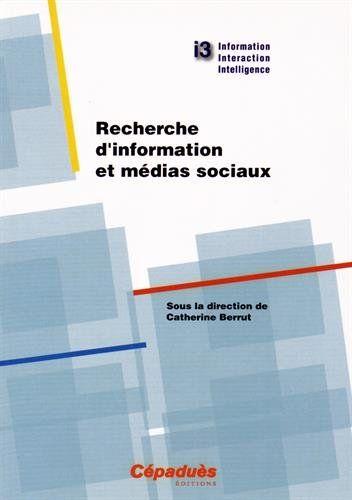 Recherche d'information et médias sociaux