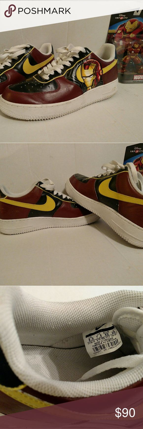 nike air force 1 low iron man