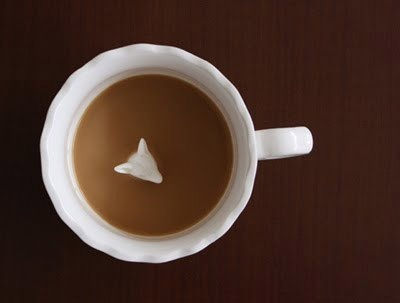 hidden animal teacup
