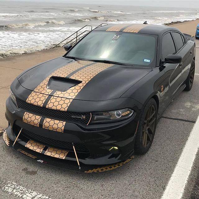 Honeycomb Stripes Link On Bio Wrap Charger Stripes Dodge