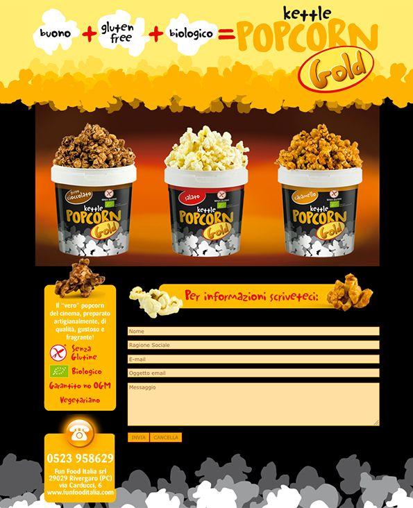 Popcorn Gold - #Web #Marketing #landingpage