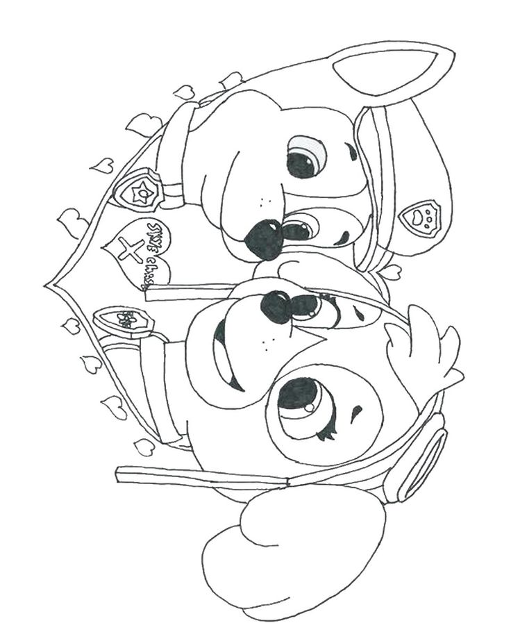 99 best images about Paw patrol coloring pages on Pinterest