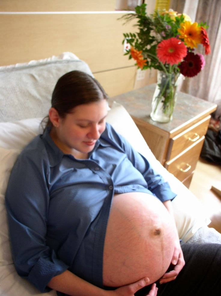 Woman Pregnant With Triplets 18