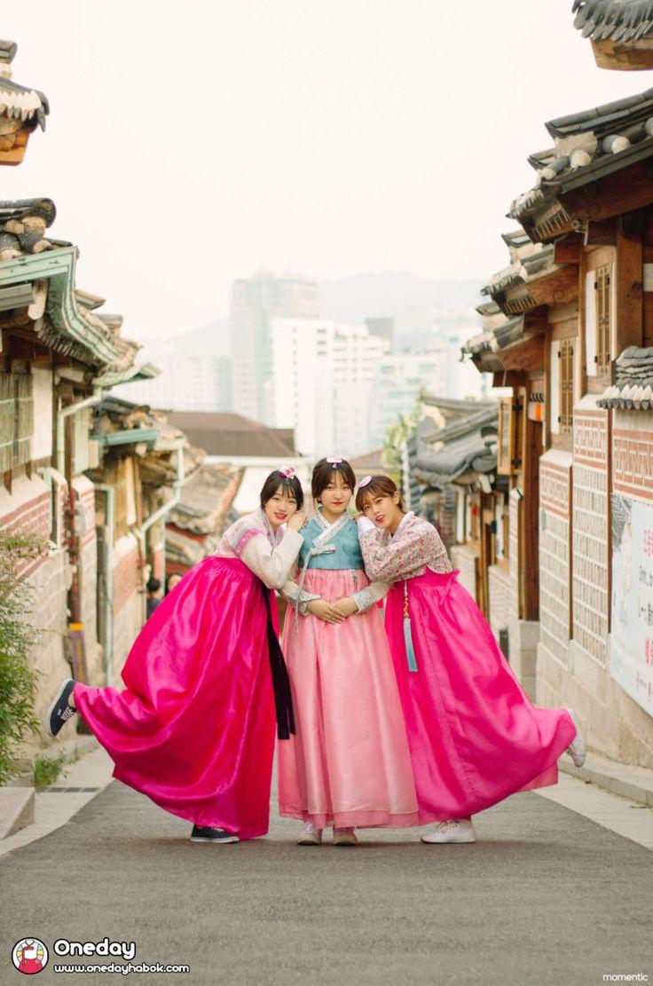 韓国に行ったら民族衣装、韓服(チマチョゴリ)を着てお散歩したい。女子限定?