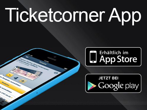 Die neue Ticketcorner App Version ist da! ☛ Lasst euch alle Events eurer ♥-Künstler aus Facebook anzeigen ☛ Sucht euch die besten Plätze im SAALPLAN aus!  Jetzt für iPhone und Android downloaden: http://www.ticketcorner.ch/tickets.html?affiliate=PTT&doc=campaign&campaign=app&language=de