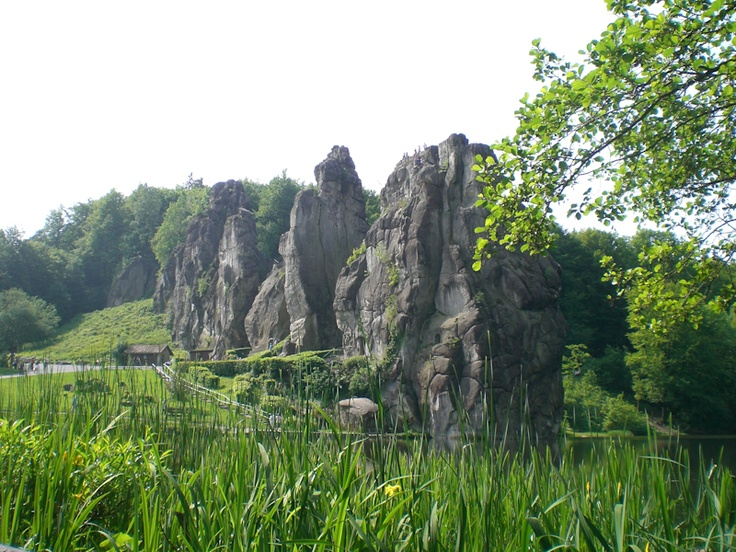Externsteine - the area where I was born. Lots of nature and long walks - relaxing times...