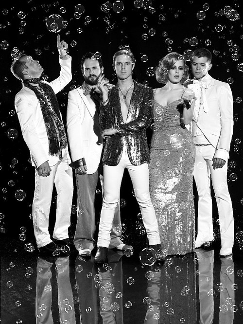 The Scissor Sisters won a GLAAD award for Outstanding Music in 2013.