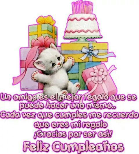 12 best images about Feliz Cumpleaños Amiga on Pinterest Happy birthday, Glitter and As