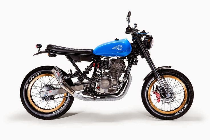 i'm in love with small bikes that look effortlessly light. honda