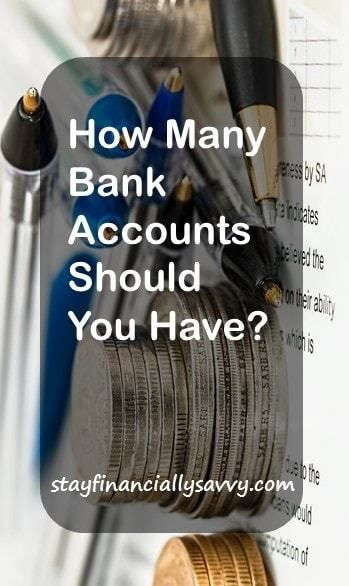 How Many Bank Accounts Should You Have?
