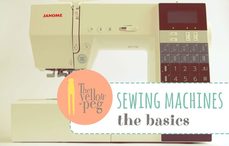 How does a sewing machine work.