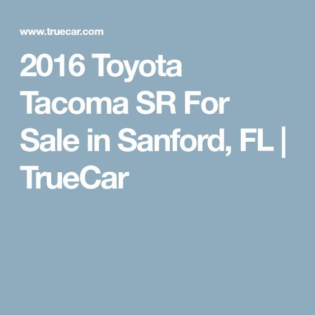 2016 Toyota Tacoma SR For Sale in Sanford, FL | TrueCar