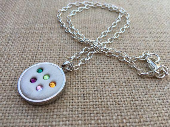 Swarovski Crystal necklace by CharlottesCCs on Etsy
