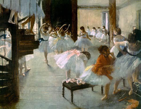 Titulo de la imágen Edgar Degas - Escuela de Ballet