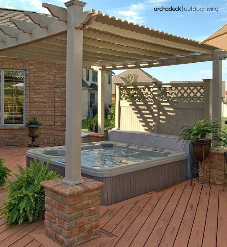 Patio Ideas With Existing Concrete Slab: 113 Best Pergola Ideas Images On Pinterest