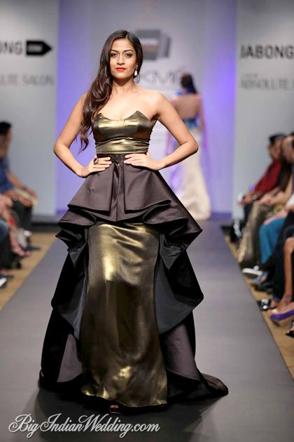 Junelia Aguiar cocktail gown