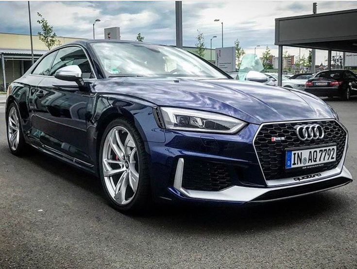 "3,111 Likes, 34 Comments - Audidriven (@audidriven) on Instagram: ""Too much or perfect? What do you think of this blue & silver #newrs5color contrast? Would carbon &…"""