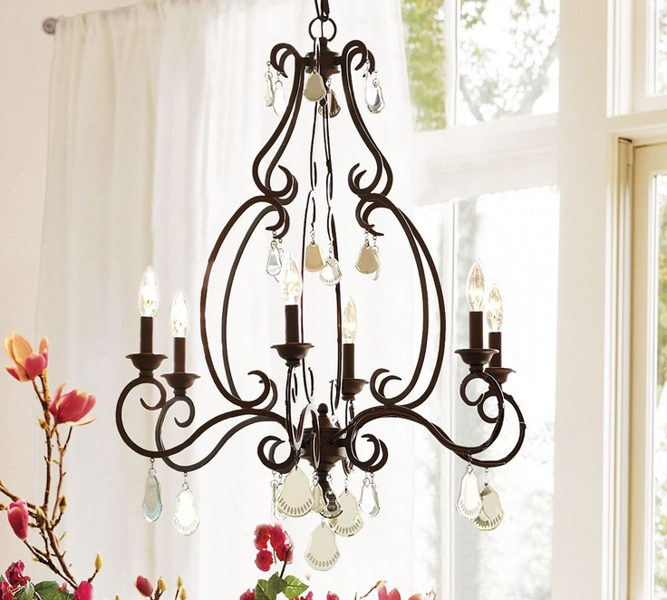 Pottery Barn Isabelle Chandelier: Cinderella Coach