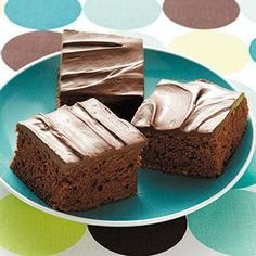 Zucchini Brownies Recipe from Taste of Home