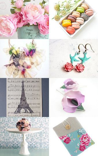 French Tea by Mandarina on Etsy--Pinned with TreasuryPin.com